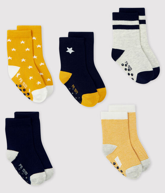 Set mit 5 Paar Baby-Socken lot .