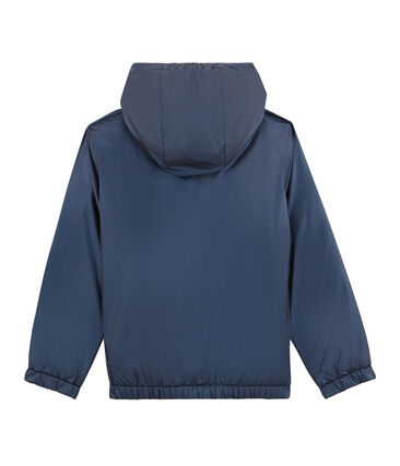 Wendbarer Kinder-Windbreaker blau Smoking