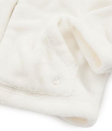 Sweatshirt aus Fleece in Schaffelloptik für Mädchen
