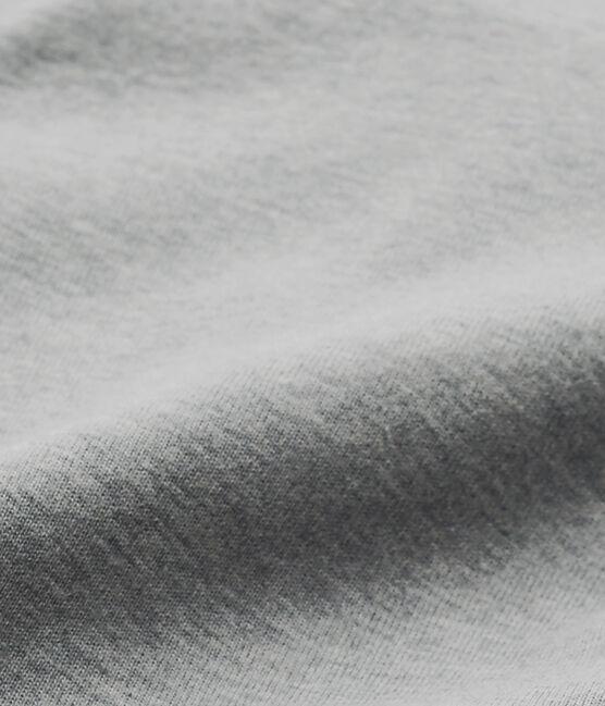 Baby-Jungen-Body mit Kragen grau Subway Chine