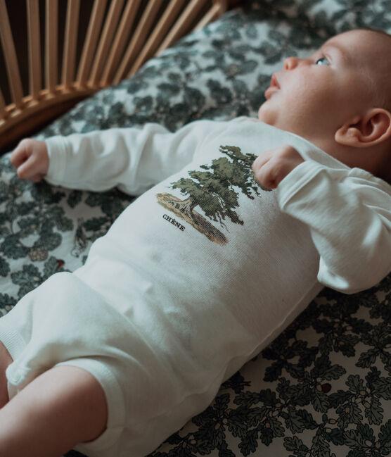3er-Set langärmelige Baby-Bodys für Jungen Petit Bateau x Deyrolle lot .