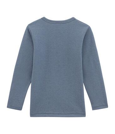 Jungen Langarmshirt blau Turquin