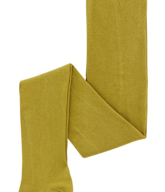 Mädchen Strumpfhose aus Jersey gelb Inca