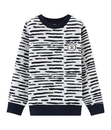 Sweater Jean Jullien MARSHMALLOW/DASH