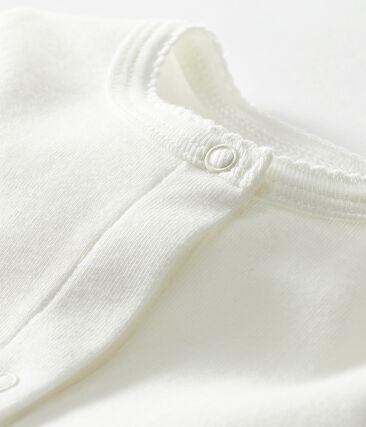Leichter Baby-Mädchen-Cardigan weiss Marshmallow
