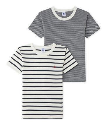 Duo aus kurzärmeligen T-Shirts für Jungen