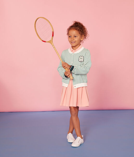 Kinder-Kleid Mädchen rosa Rosako