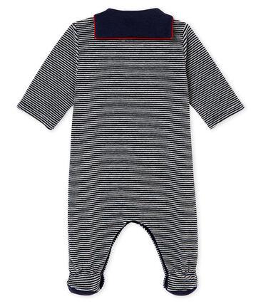 Baby Jungen Strampler mit Milleraies Ringelstreifen
