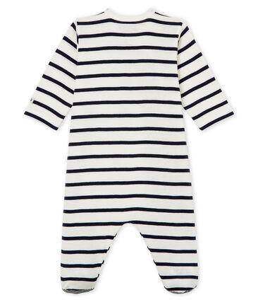 Baby-Strampler aus Rippstrick, Unisex