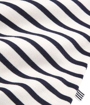 Emblematisches Streifenshirt für Herren grau Beluga / blau Smoking