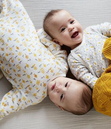 3er-Set langärmlige Neugeborenen-Bodys für Mädchen