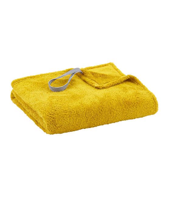 Badetuch Kinder/Erwachsene Unisex gelb Bamboo