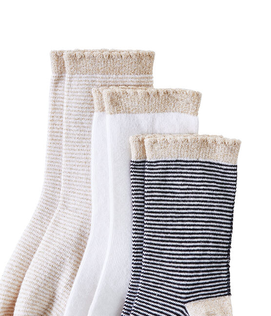 Mädchen-Socken im 3er-Set lot .