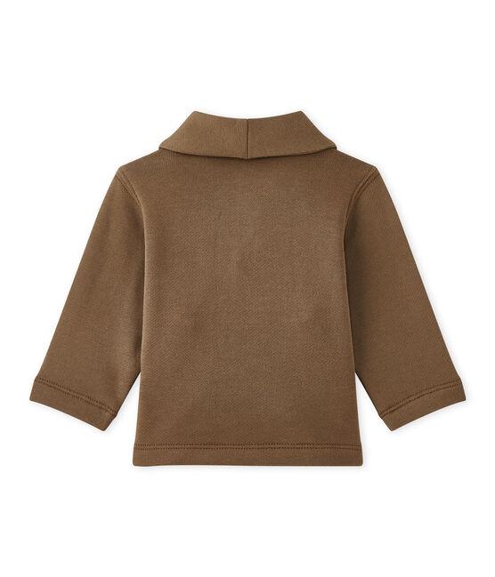 Baby-Jacke aus Molton für Jungen braun Shitake