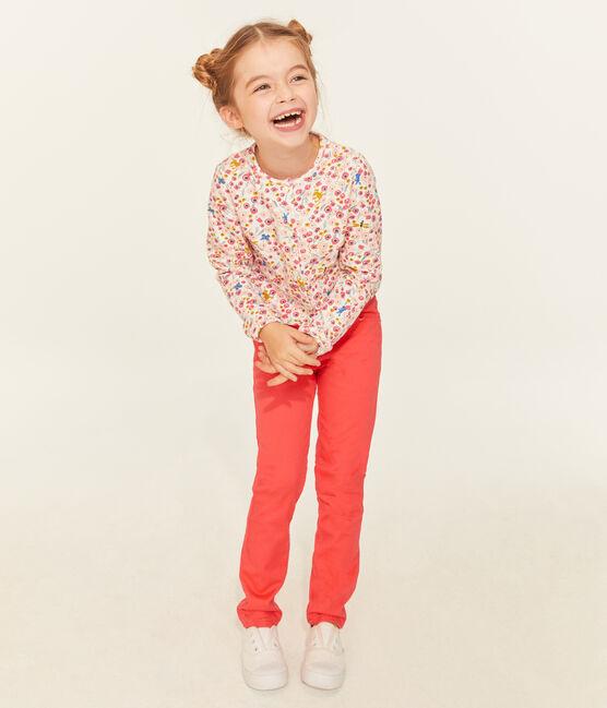 Kinderhose Mädchen rosa Groseiller