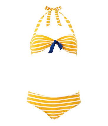 Gestreifter Damen-Bikini