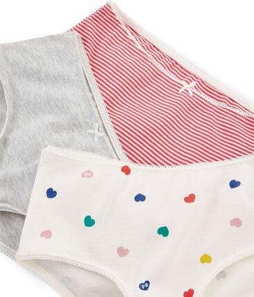 3er-Set Shorties für kleine Mädchen
