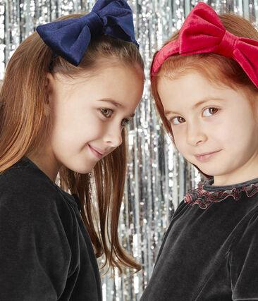 Haarband für Mädchen blau Smoking