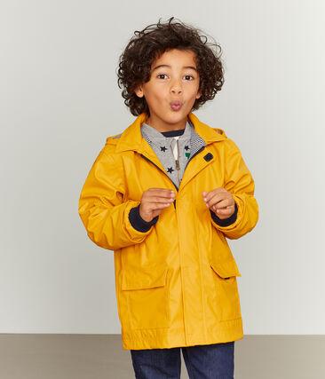 Kinder-Regenjacke unisex gelb Boudor