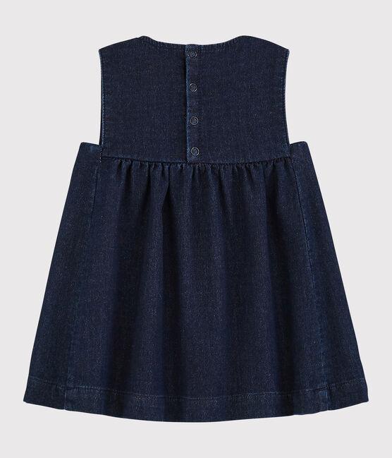 Ärmelloses Baby-Kleid für Mädchen JEANS
