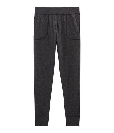 Lange leggings in extrafeiner doppelbaumwolle