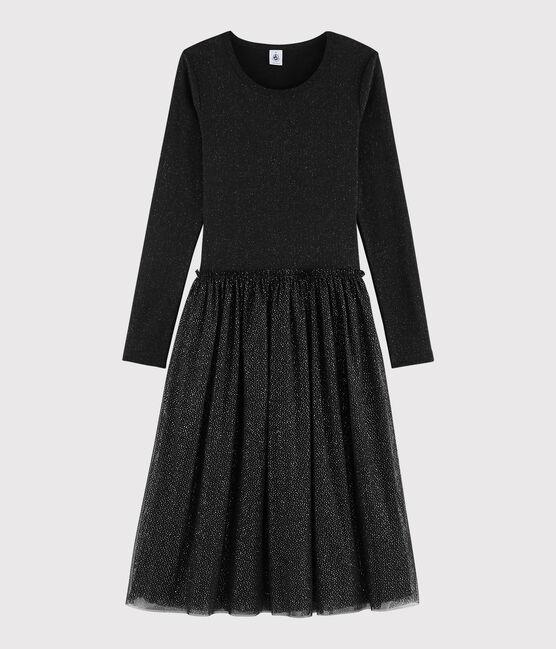 Kleid aus Tüll für Damen BLACK/OR