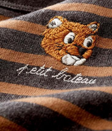 Neu interpretiertes Baby-Streifenshirt für Jungen