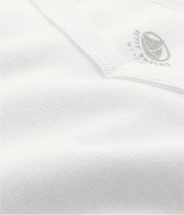 Emblematisches kurzärmliges T-Shirt für Herren weiss Ecume