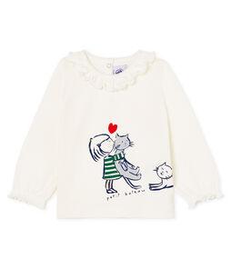 Langärmelige Baby-Bluse für Mädchen