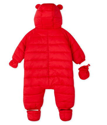Baby-Schneeanzug Unisex rot Terkuit