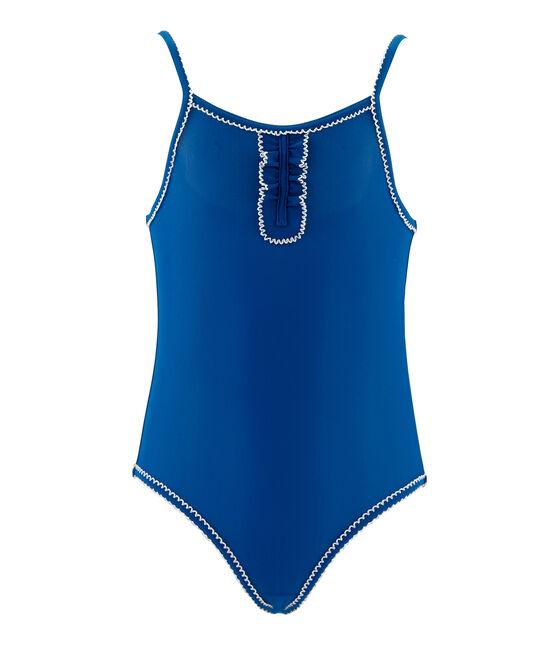 1-teiliger Kinder-Badeanzug Mädchen blau Riyadh