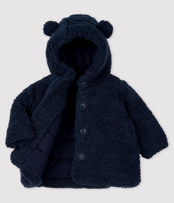 Baby-Sherpa-Mantel für Mädchen SMOKING