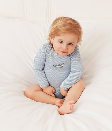 Zweier-Set langärmlige Baby-Bodys für Mädchen lot .