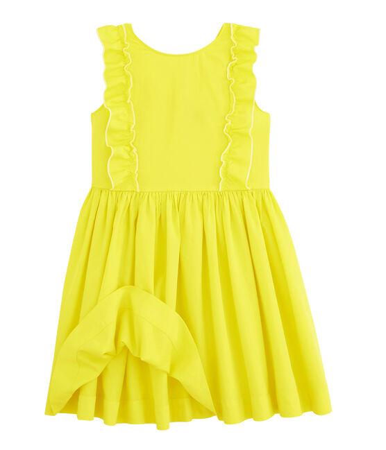 Kinder-Kleid für Mädchen gelb Eblouis