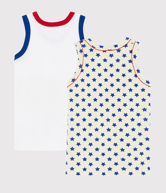 2er-Set 'Made in France' Tanktops für kleine Jungen lot .