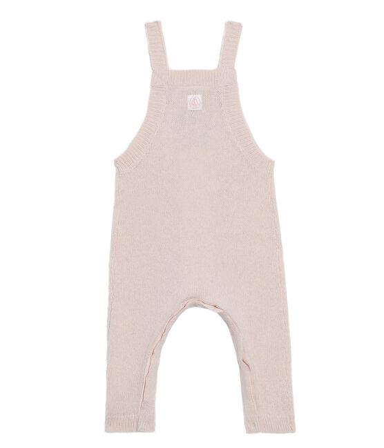 Lange Baby-Latzhose aus einem Strick-Gemisch für Jungen. FLEUR