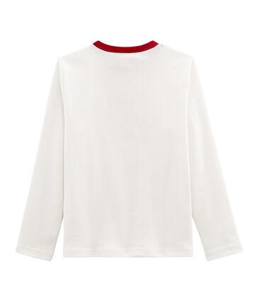 T-Shirt für Jungen weiss Marshmallow