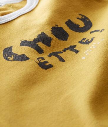Baby Jungen T-Shirt gelb Inca