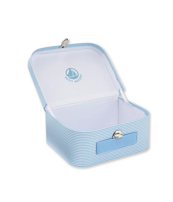 Mehrzweck-Köfferchen, Ringelmuster blau Fraicheur / weiss Ecume