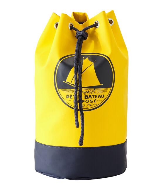 Seemannssack aus wasserabweisendem PU gelb Jaune
