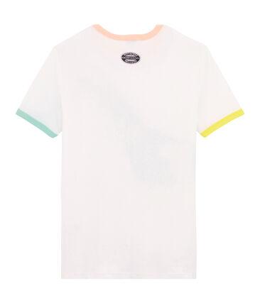 Ikonisches Damen-T-Shirt weiss Ecume