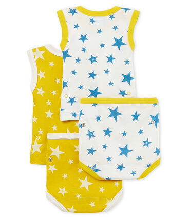Duo 2-in-1-Baby-Höschenbodys für Jungen