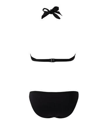 Bikini für Damen schwarz Noir