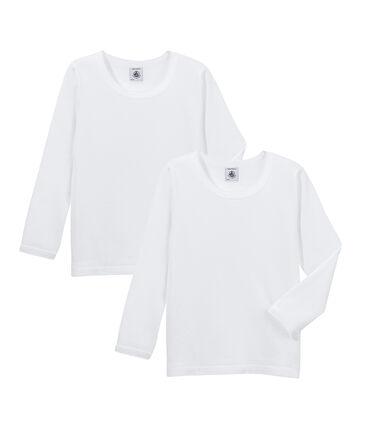 2er-Set langärmlige T-Shirts für kleine Mädchen