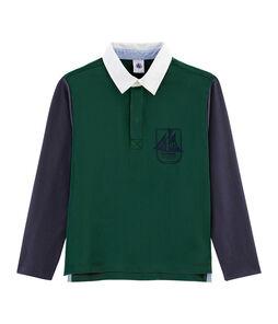 Rugby-Poloshirt für Jungen