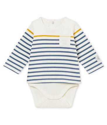Langärmeliges Baby-Jungen Body-Tee-Shirt