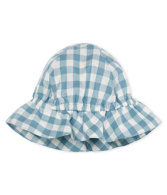 Baby-hut unisex blau Fontaine / weiss Marshmallow