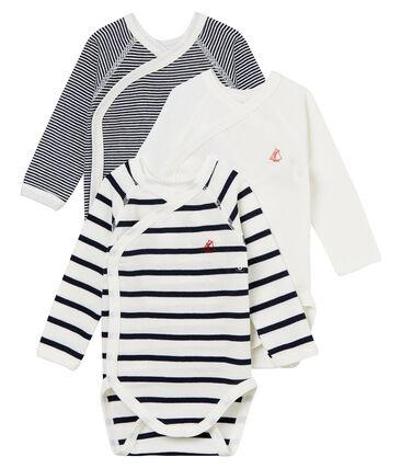 Trio Baby-Bodys für Neugeborene, Unisex