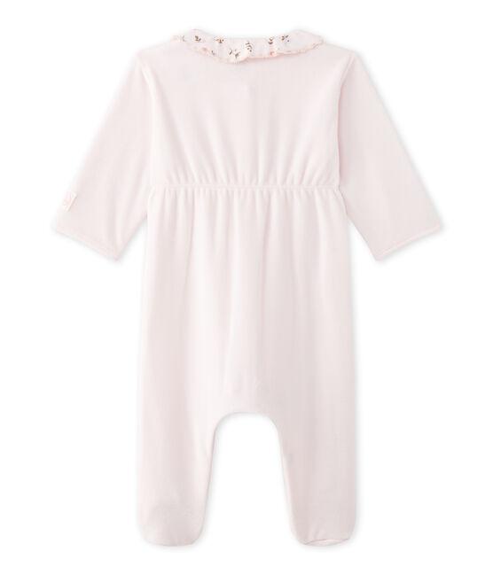 Baby-Mädchen-Strampler aus Nicki rosa Vienne