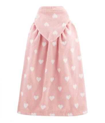 Baby-Badecape aus Frottee für Mädchen
